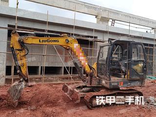 濟南柳工CLG906E挖掘機實拍圖片