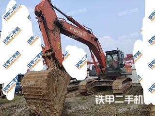 唐山日立ZX400LCH-5A挖掘機實拍圖片
