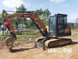 柳州三一重工SY60C挖掘机实拍图片