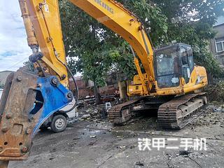 龍工LG6215挖掘機實拍圖片