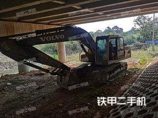 杭州沃爾沃EC210B挖掘機實拍圖片