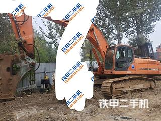 秦皇島斗山DX420LC挖掘機實拍圖片