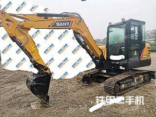 河北-保定市二手三一重工SY60C挖掘机实拍照片