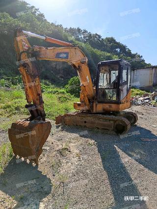 浙江-绍兴市二手雷沃重工FR65V8挖掘机实拍照片