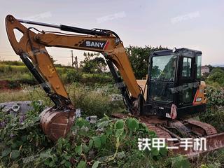 江西-上饶市二手三一重工SY60C挖掘机实拍照片