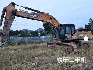 濟南三一重工SY485H挖掘機實拍圖片
