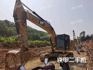 杭州卡特彼勒320GC挖掘機實拍圖片