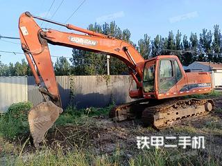 濱州斗山DH225LC-7挖掘機實拍圖片
