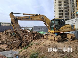 安徽-亳州市二手小松PC200-7挖掘机实拍照片