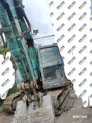 天津神鋼SK60sr挖掘機實拍圖片