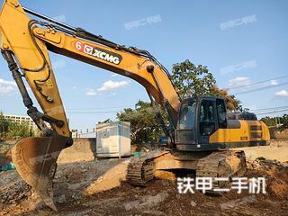 湖南-长沙市二手徐工XE370D挖掘机实拍照片