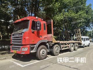 二手江淮重工 8X4 平板运输车转让出售