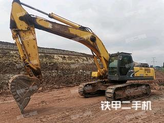 四川-内江市二手神钢SK460-8挖掘机实拍照片
