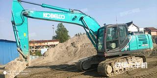 濟南神鋼SK200-10挖掘機實拍圖片