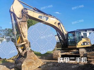 貴陽卡特彼勒330D液壓挖掘機實拍圖片