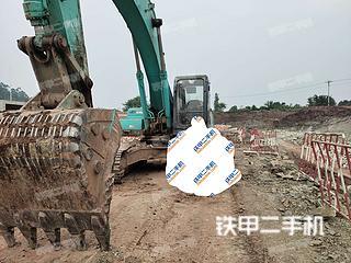 四川-乐山市二手神钢SK350LC-8挖掘机实拍照片