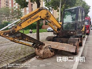 二手现代 R60W-7 挖掘机转让出售