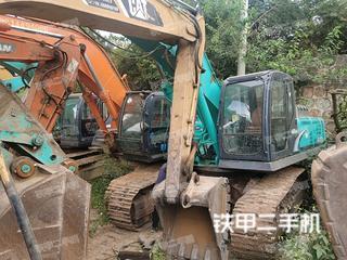 云南-楚雄彝族自治州二手神钢SK350LC-8挖掘机实拍照片