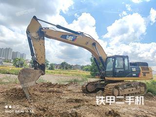 濟南卡特彼勒336D2液壓挖掘機實拍圖片