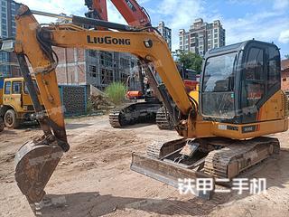 上饒柳工CLG9055E挖掘機實拍圖片