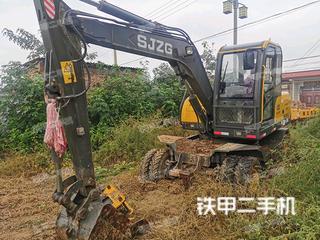 二手山江重工 SJ80-9M 挖掘机转让出售