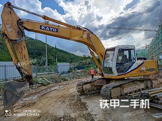 濰坊加藤HD820III挖掘機實拍圖片