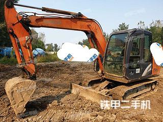 北京日立ZX60-5G挖掘機實拍圖片