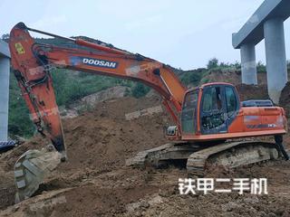 濟南斗山DX260LC挖掘機實拍圖片