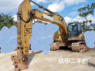 貴陽卡特彼勒320DLRR挖掘機實拍圖片
