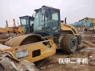 陕西-咸阳市二手山推SR22MA压路机实拍照片