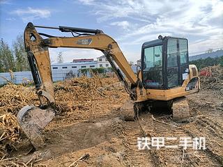安徽-阜阳市二手卡特彼勒306小型液压挖掘机实拍照片