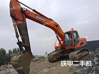 唐山斗山DH220LC-7挖掘機實拍圖片