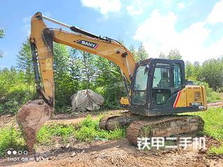 宜昌三一重工SY115C挖掘機實拍圖片
