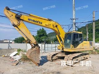 溫州小松PC200-7挖掘機實拍圖片