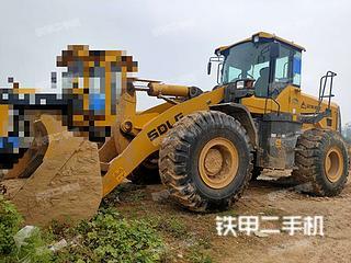 山東臨工L955F裝載機實拍圖片