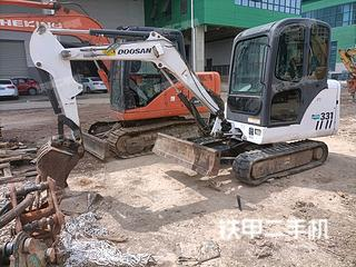 山猫MX331挖掘机实拍图片