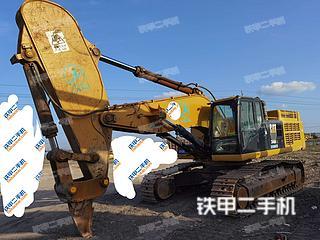 海南卡特彼勒349D2L液壓挖掘機實拍圖片