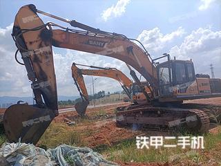 上饒三一重工SY385H挖掘機實拍圖片