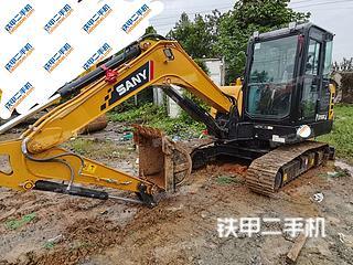 濟南三一重工SY55C挖掘機實拍圖片