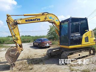 柳州小松PC60-8挖掘机实拍图片