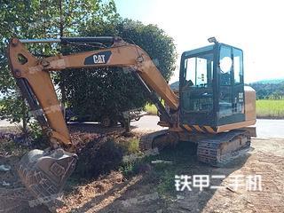 吉安卡特彼勒305.5E2小型液壓挖掘機實拍圖片