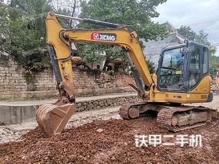 曲靖徐工XE55DA挖掘機實拍圖片