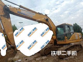 安徽-淮南市二手小松PC200-7挖掘机实拍照片