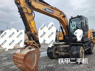 北京三一重工SY155W挖掘機實拍圖片