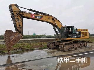 濟南卡特彼勒349D2L液壓挖掘機實拍圖片