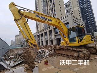 江苏-徐州市二手小松PC200-7挖掘机实拍照片