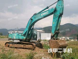 曲靖神鋼SK350LC-8挖掘機實拍圖片