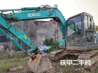 宜昌神鋼SK75-8挖掘機實拍圖片