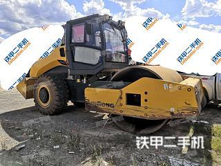 贵州-黔东南苗族侗族自治州二手柳工CLG6622E(单驱)压路机实拍照片