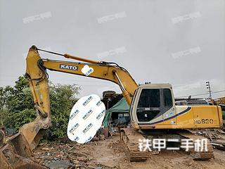 陽江加藤HD820III挖掘機實拍圖片